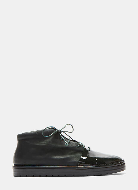 Sancrispa Alta Lace-up Leather Shoes