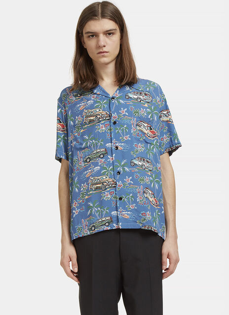 Classic Hawaiian Short Sleeved Shirt