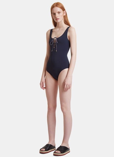 Rope Tied Swimsuit