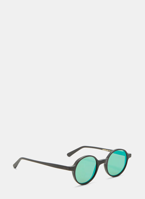 Reunion Matte Mirrored Sunglasses