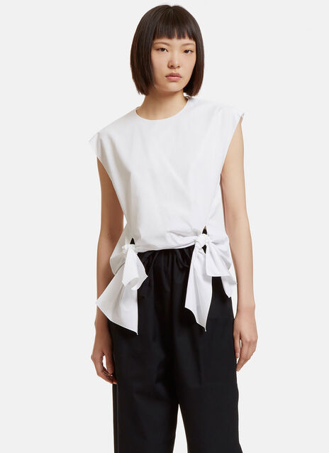 Boxy Bow Tied Top
