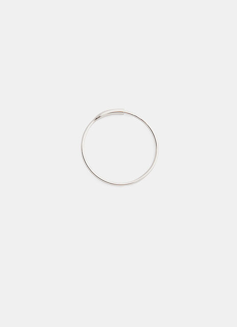 0.88 by Philippe Airaud Medium Single Hoop Earring