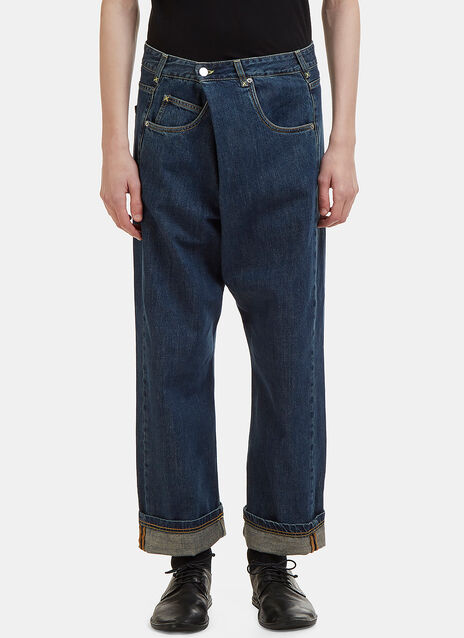JW Anderson Front Fold Jeans