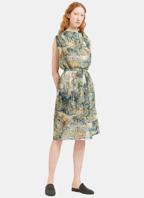 Printed Knot Dress