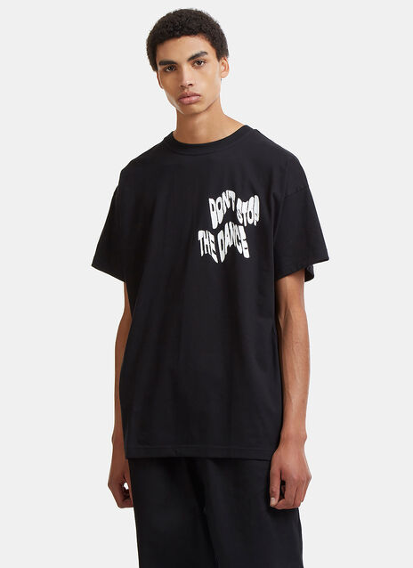 Don't Stop The Dance Graphic Printed T-Shirt
