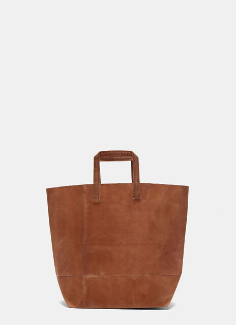 D Waxed Canvas Bag