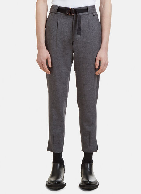 Alyx Roller-Coaster Clip Tailored Pants