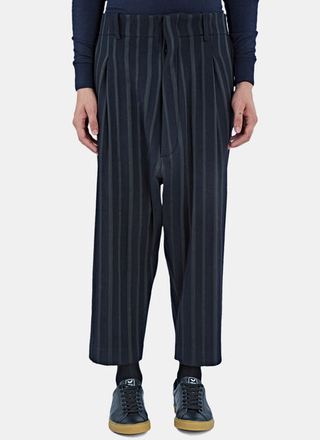 Our Striped Dropped Crotch Pants