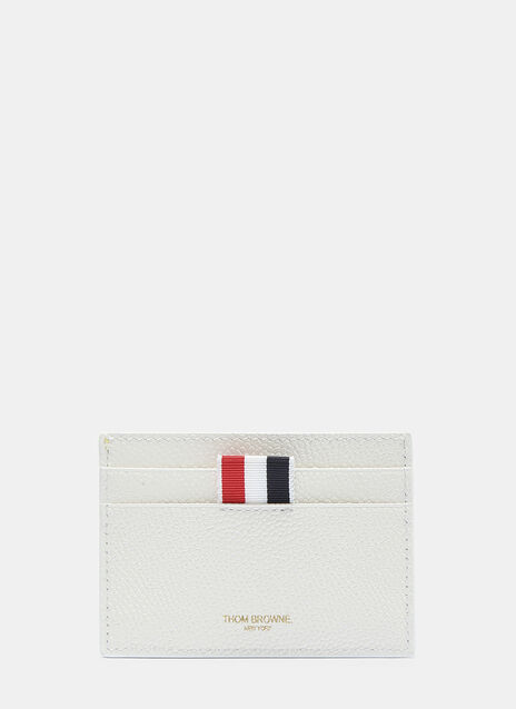 Thom Browne Tennis Ball Pebble Grained Card Holder