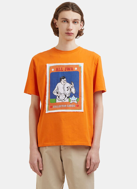 JW Anderson Baseball Card Patch T-Shirt