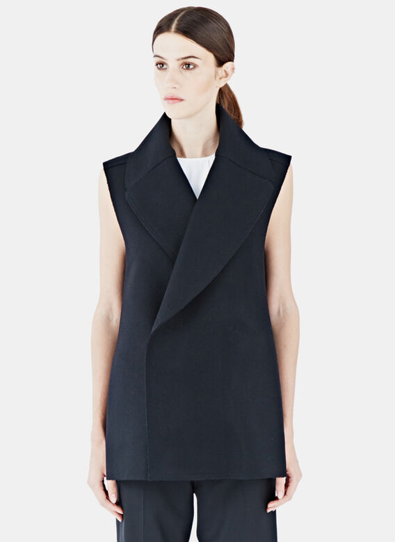 Gauchère Gastonia Sleeveless Wool Jacket