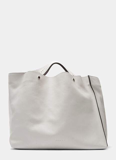 Press Stud Shopper Bag