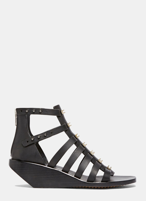 Rick Ownens Central Studded Low Sandals