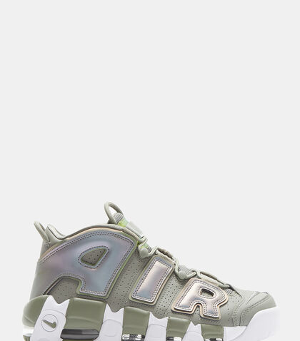 Air More Uptempo Sneakers in Green