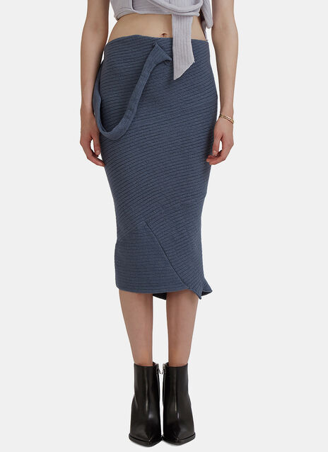 Mid-Length Tube Knit Skirt
