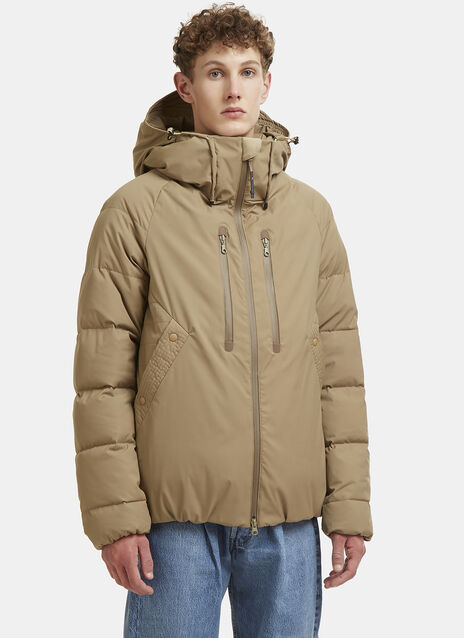 Hooded Padded Bomber Jacket