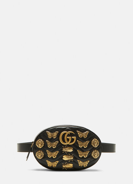 GG 2.0 Marmont Insect Belt Bag