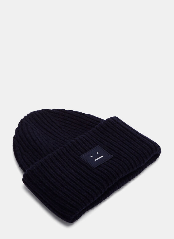 Acne Studios Pansy Wool Knit Hat