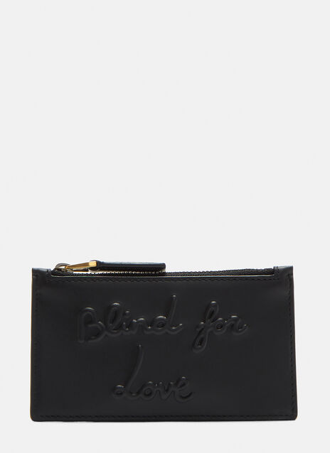 Blind for Love Zip Wallet