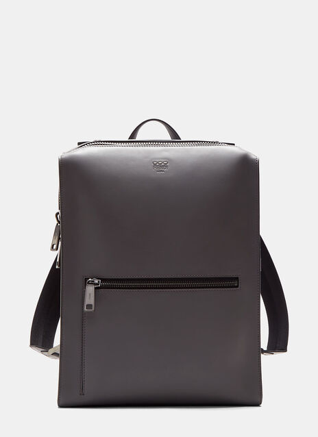 Grace Boxy Leather Backpack