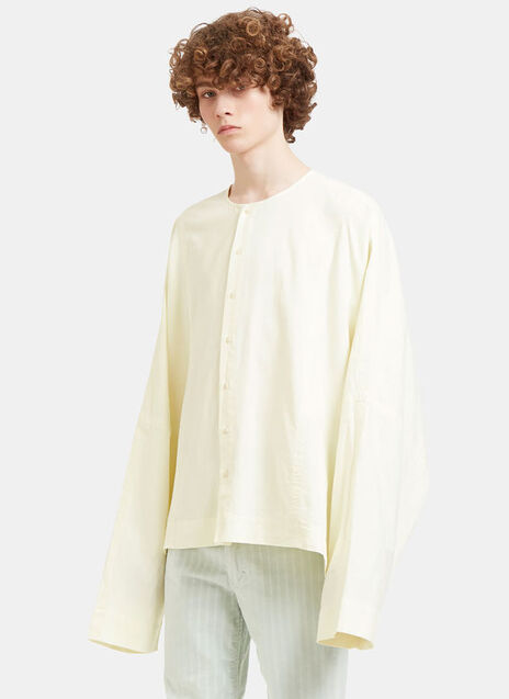 Oversized Batwing Sleeved Shirt