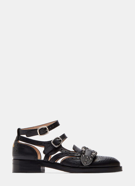 Queercore Brogue Pump Sandals