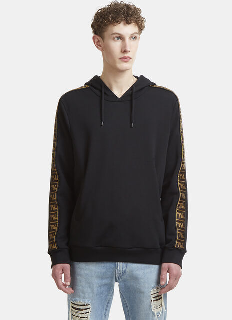 Fendi FF Logo Hooded Sweater