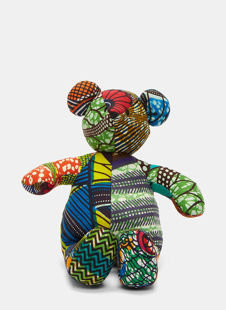 African Pattern Teddy 7