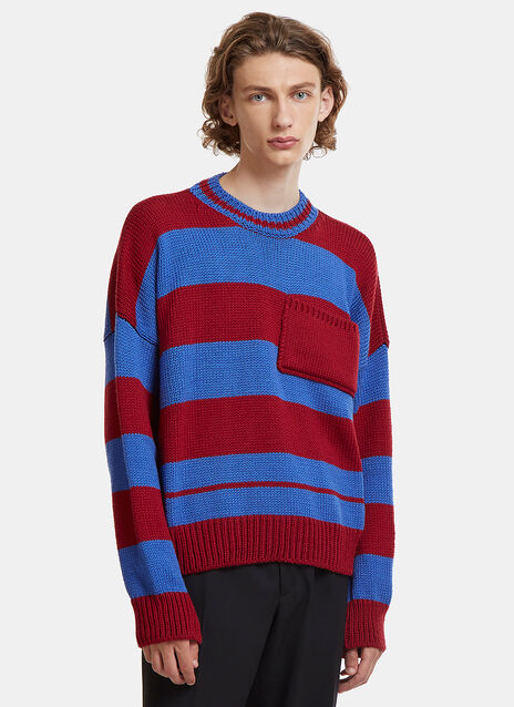 Disturbed Striped Sweater