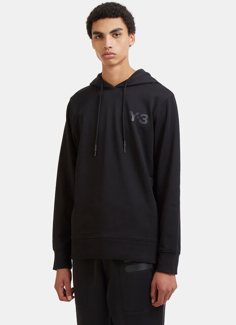Logo-Printed Hooded Sweater