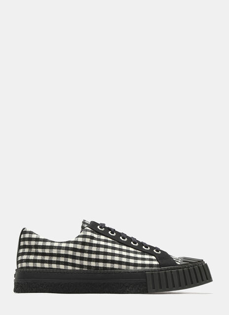 Adieu Checked Shell Toe Sneakers