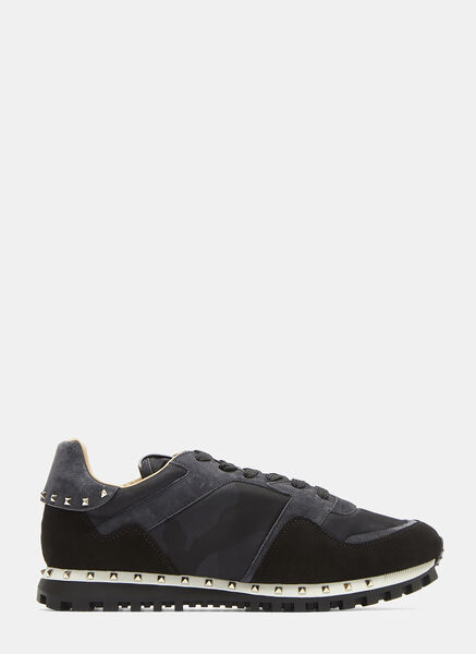 Camouflage Insert Panelled Sneakers