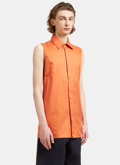 Dalby Long Sleeveless Bi-Colour Shirt
