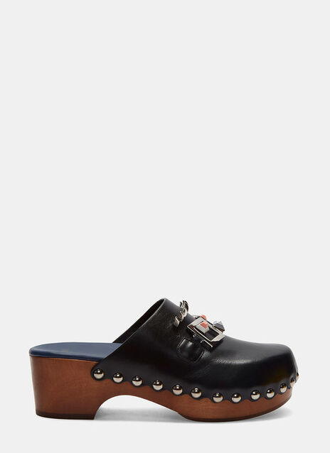 Studded Face Clogs