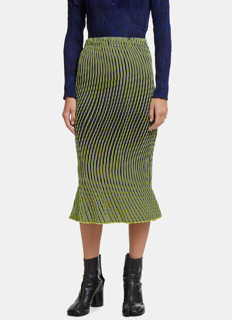 Plasma 1 Wave Pleat Skirt
