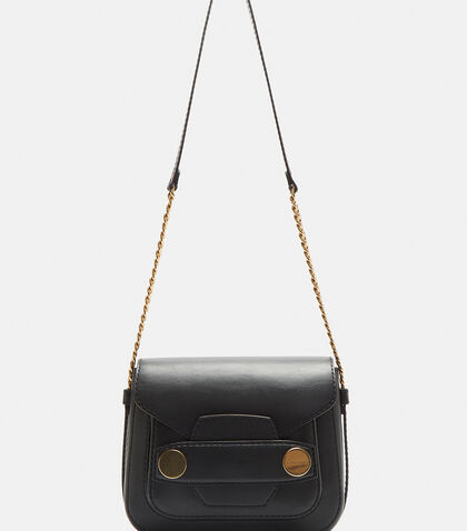 Big Gold-Stud Shoulder Bag