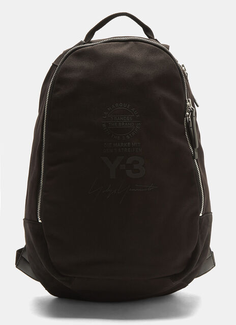 Y-3 Logo Graphic Backpack