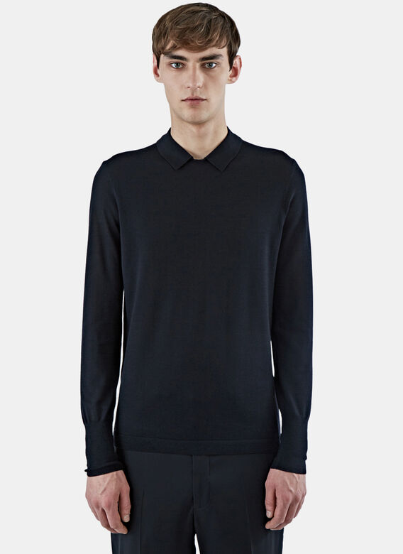 Acne Studios Janeck Collared Sweater