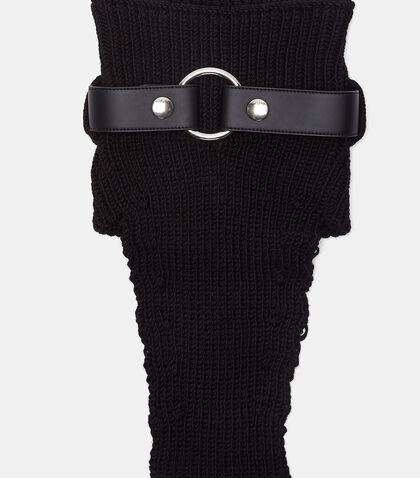 Bondage Hardware Neck Warmer
