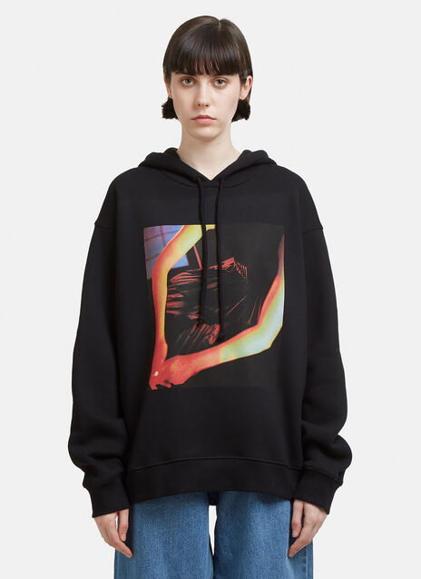 Hands Graphic Hooded Sweatshirt