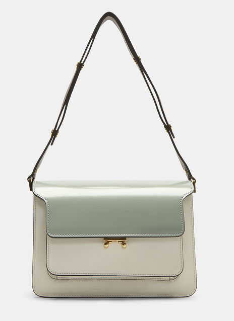 Marni Medium Triple-Tone Trunk Bag
