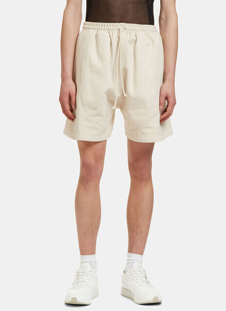 Men's Football Shorts in Off-White