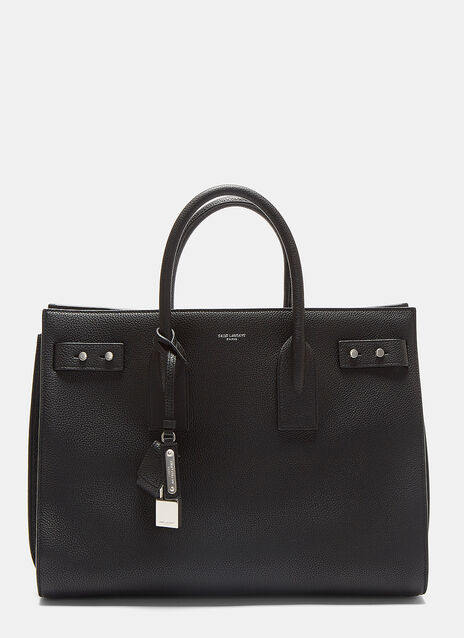 Medium Sac De Jour Grained Handbag