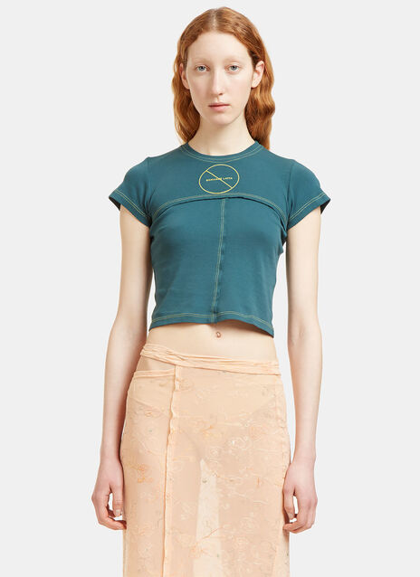 Lapped Cropped T-Shirt