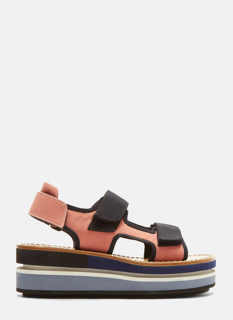 Marni Two Band Wedge