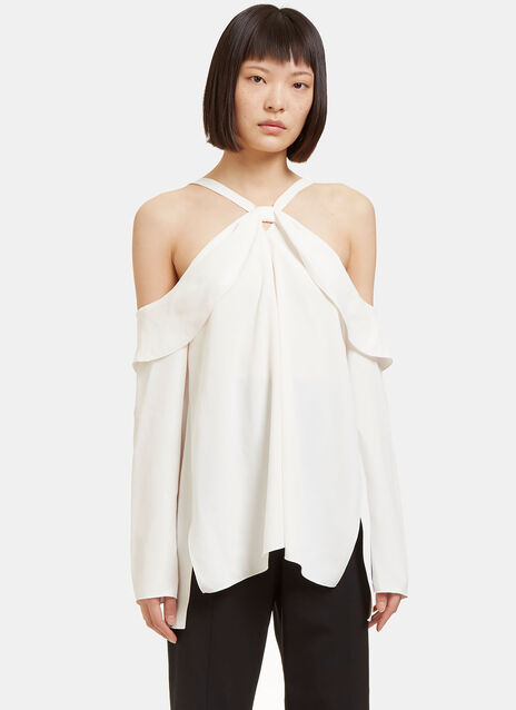 Off-The-Shoulder Draped Top