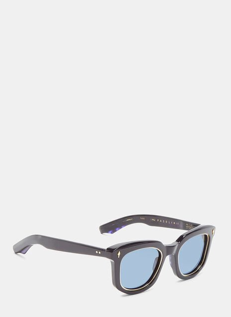 JACQUES MARIE MAGE PASONLINI SUNGLASSES IN NAVY