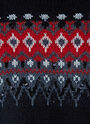 Sequin Intarsia Knitted Sweater