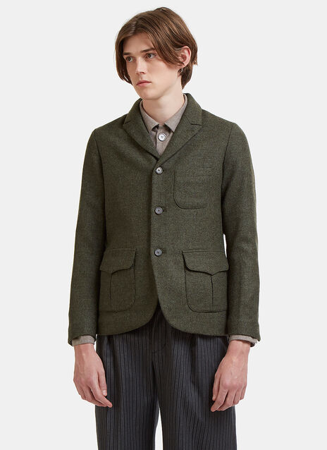 École de Curiosités Jonas Single-Breasted Blazer Jacket