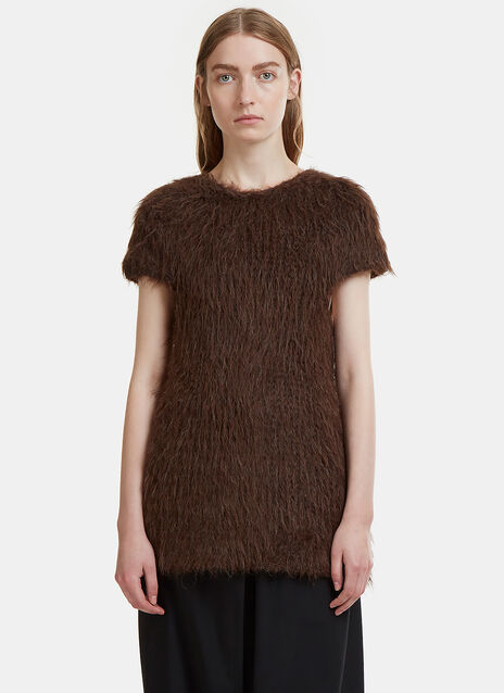 Lauren Manoogian Oversized Cap Sleeve Martin Sweater